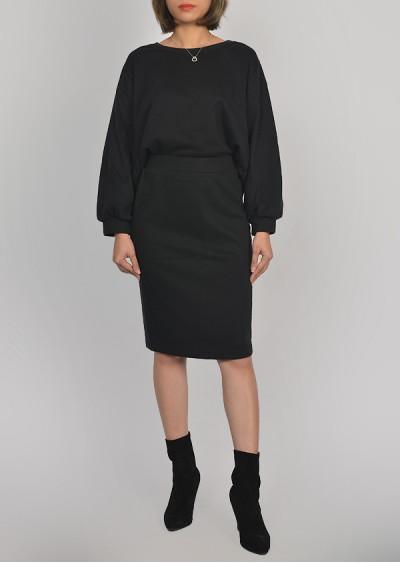 Bộ áo jupe nỉ L418