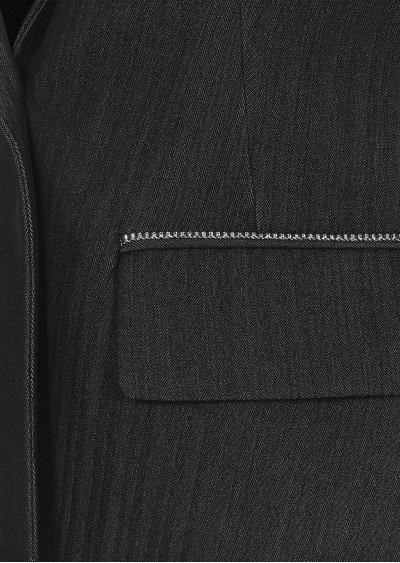 Vest rayon tay lỡ kẻ B620