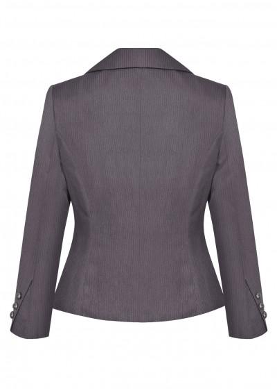 Vest nano dài kẻ ghi B454