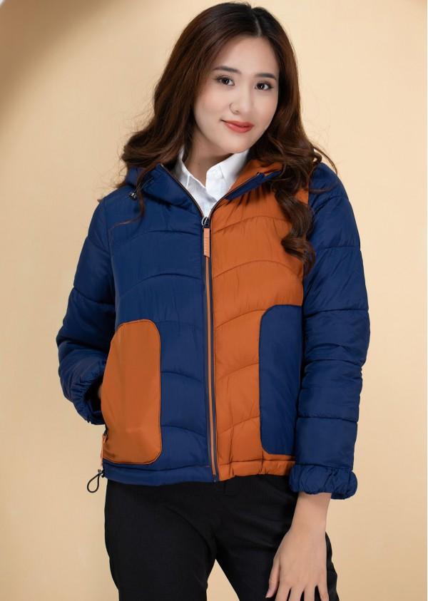 Phao 2 màu xanh cam A909G