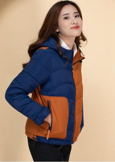 Phao 2 màu xanh cam A909-G