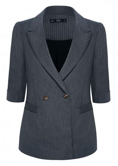 Vest kẻ sọc xanh B290-G1