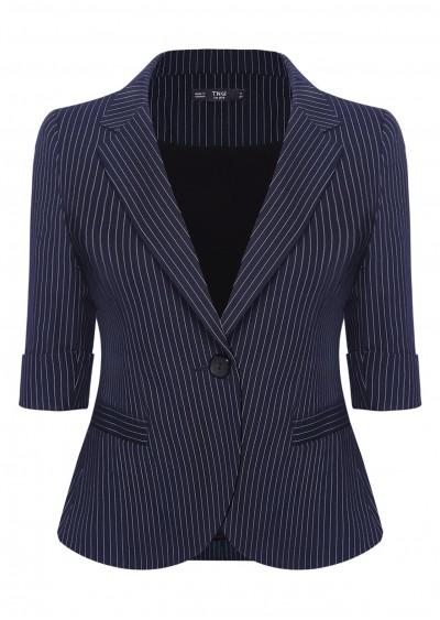 Vest kẻ xanh B325-1