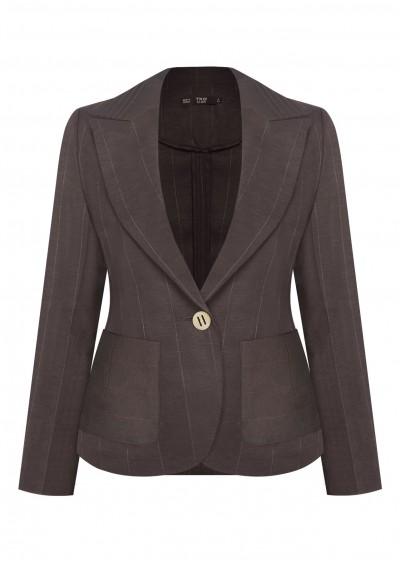Vest nano cổ xếp ly B363-1