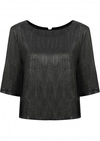 Áo ánh kim lưng nơ C193-1