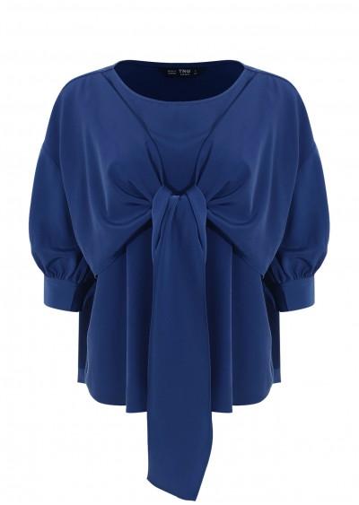 Áo xoắn cổ xanh C263-2