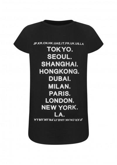 Váy TE Cities đen K189-2