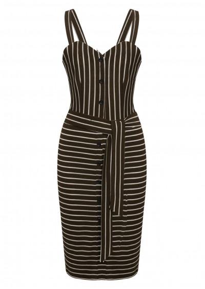 Váy 2D kẻ L161-2