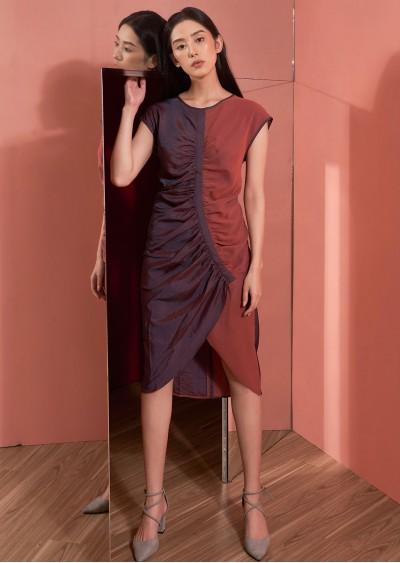 Váy dúm 2 màu V452-1