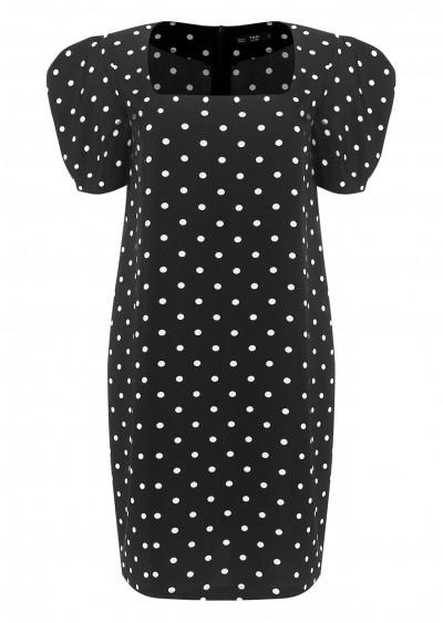 Váy cổ vuông tay bồng CB V468-G