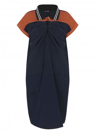 Váy nhún 2 màu V486-1