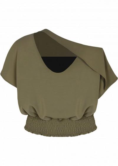 Áo chiffon đan ngực C283-1
