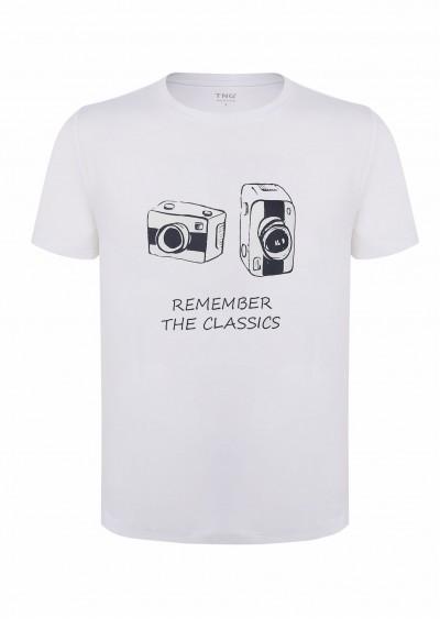 Phông nam cotton máy ảnh E202