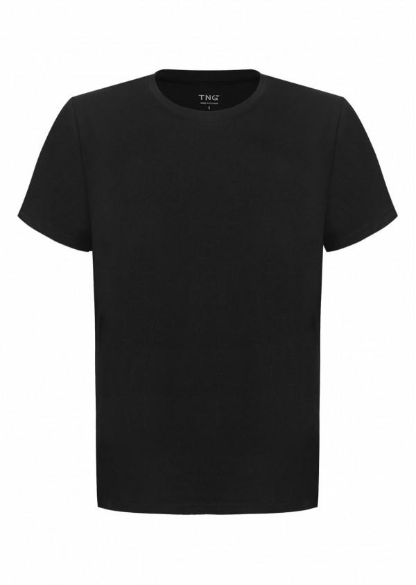 Phông nam cotton đen E223
