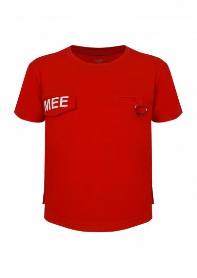 Phông cotton BT Mee đỏ K553-1