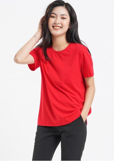 Phông cotton đỏ P453