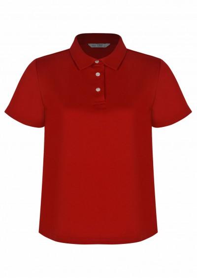 Polo cotton đỏ P465