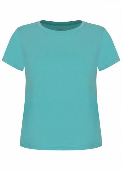 Phông cotton xanh ngọc P622