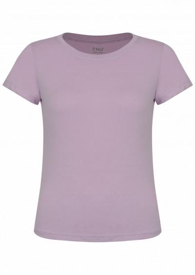 Phông cotton basic tím P623