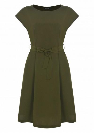 Váy PE Plain vai ôm V436