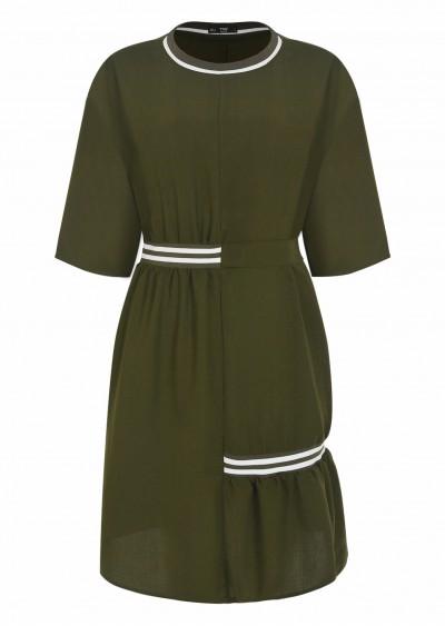 Váy PE Plain nhún eo V471