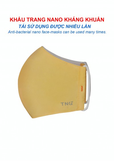 Khẩu trang nano kháng khuẩn Y0204