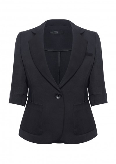 Vest túi tròn xanh TT B654
