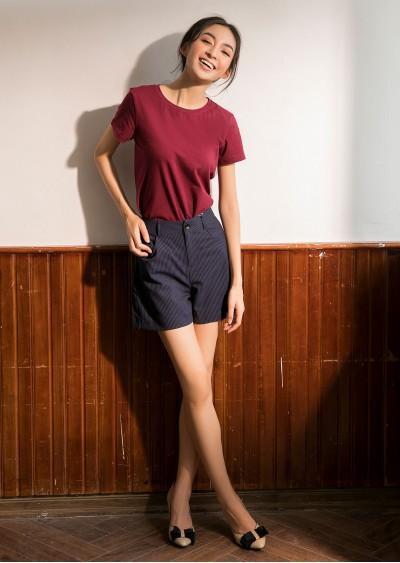 Phông cotton đỏ đô P680-1