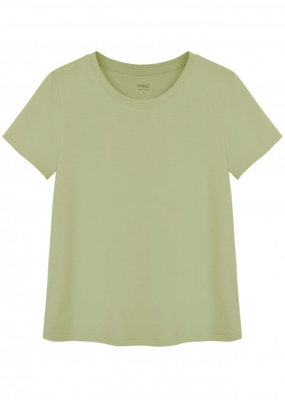 Phông cotton xanh cốm P680-2
