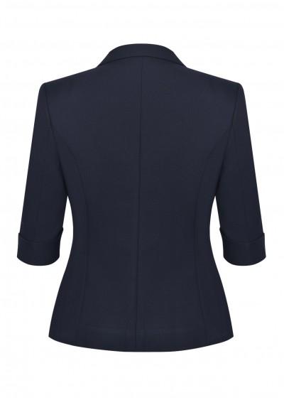 Vest vạt tròn xanh TT B640