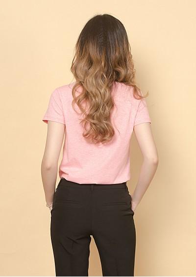 Phông cotton hồng P680-3