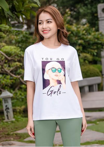 Phông in YOU GO GIRLS P682