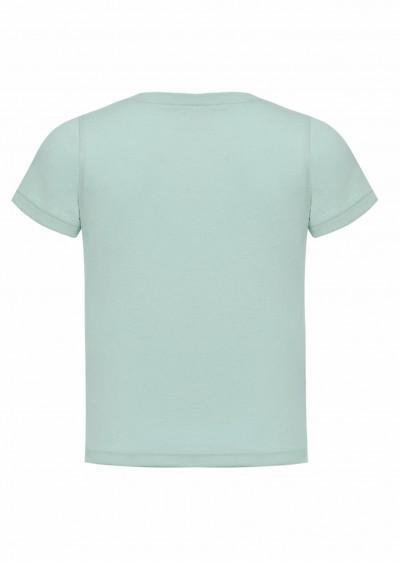 Phông cotton BT xanh K0111