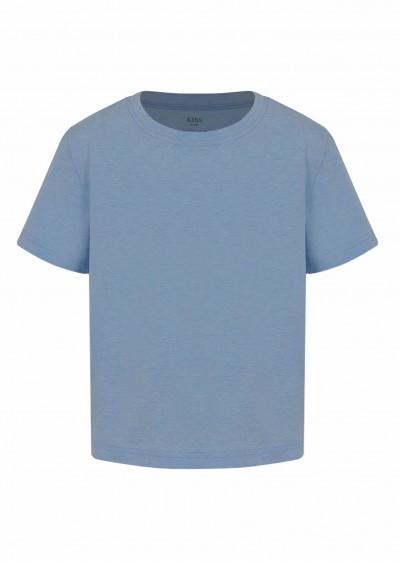 Phông cotton BT xanh ngọc K0005 -1