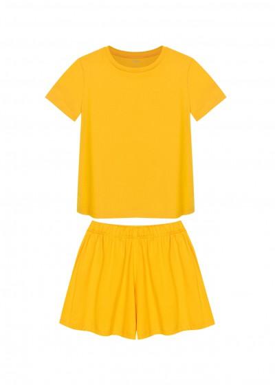 Bộ TE cotton BG vàng K0145