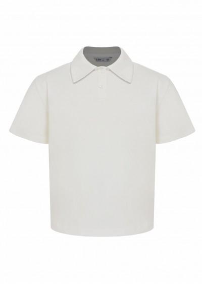 Polo PE BG trắng K729-1