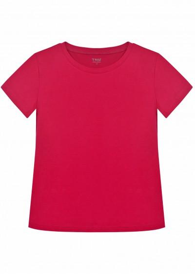 Phông cotton hồng đậm P489