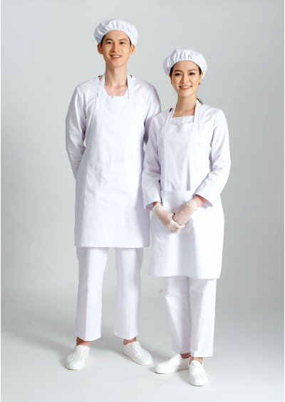 Trang phục của nhân viên dinh dưỡng Y0156