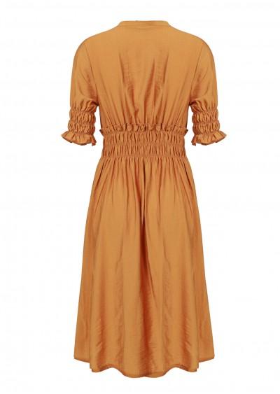 Váy chun tay eo vàng V739