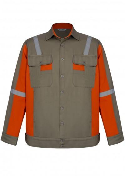 Bộ quần áo trang phục chống tĩnh điện có dây phản quang Tsafe TA04