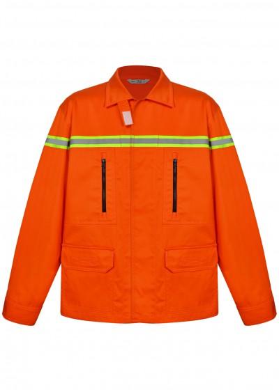 Quần áo trang phục chống cháy có sợi quản quang Nomex TF03