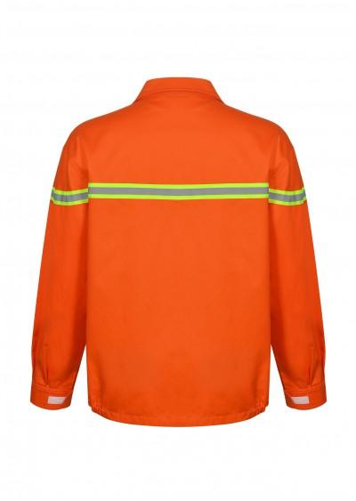 Quần áo trang phục chống cháy có sợi phản quang Nomex TF03