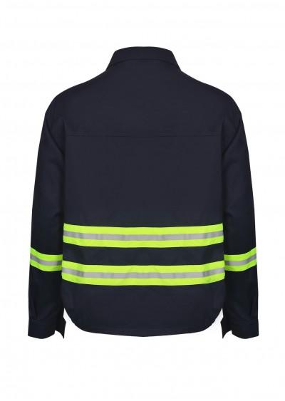Quần áo trang phục chống cháy với sợi phản quang Nomex TF04
