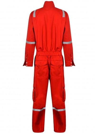 Bộ áo liền quần chống cháy Nomex với sợi phản quang TF07