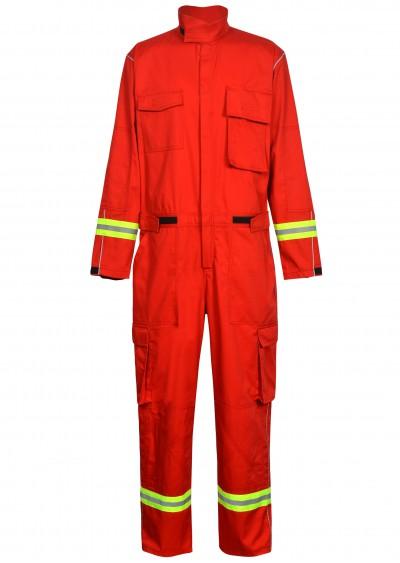 Bộ áo liền quần chống cháy Nomex với sợi phản quang TF08