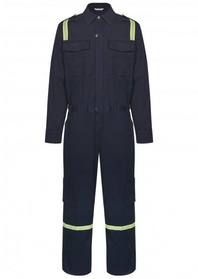 Bộ áo liền quần chống cháy có sợi phản quang TF10