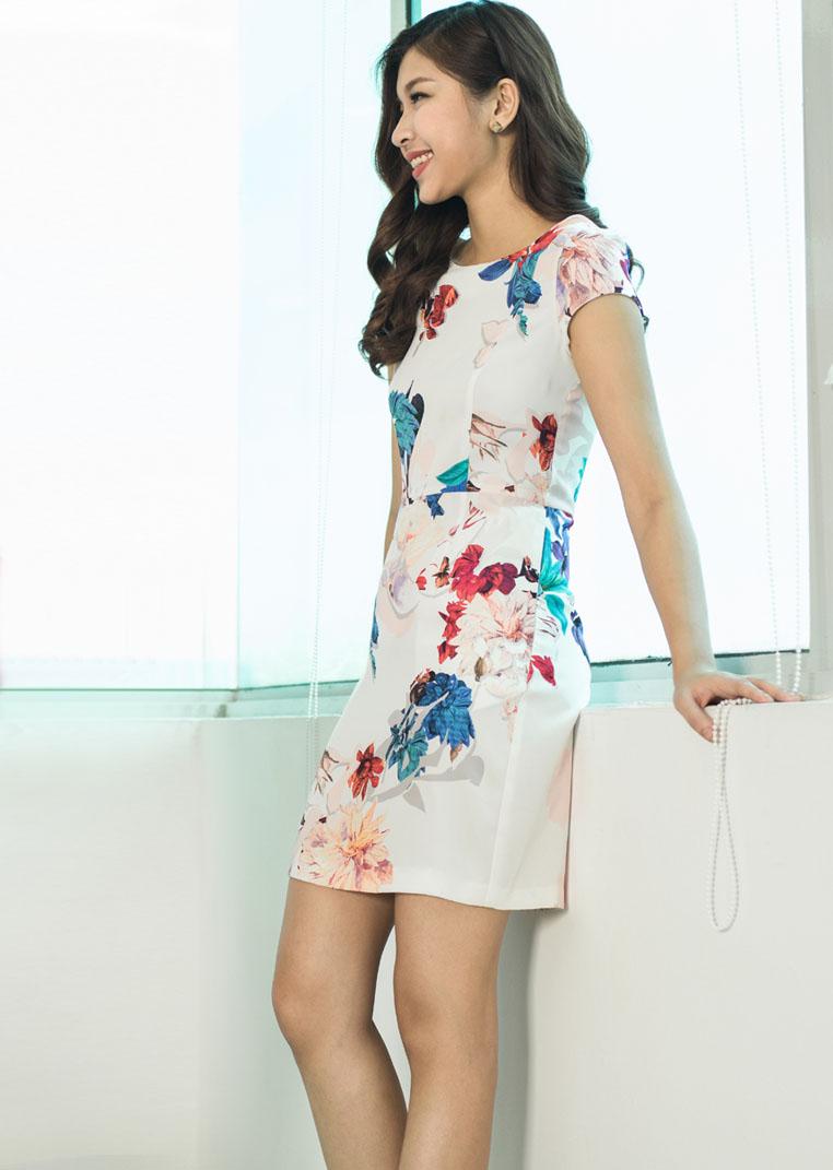 Váy hoa ly TNG1133
